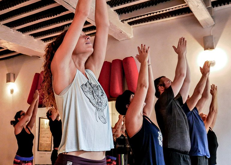 Yoga classes at Ashtanga Yoga Luxembourg