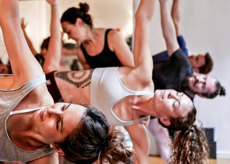 Class schedule at Ashtanga Yoga Luxembourg